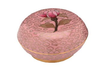 Dusty Rose Cloisonne Keepsake
